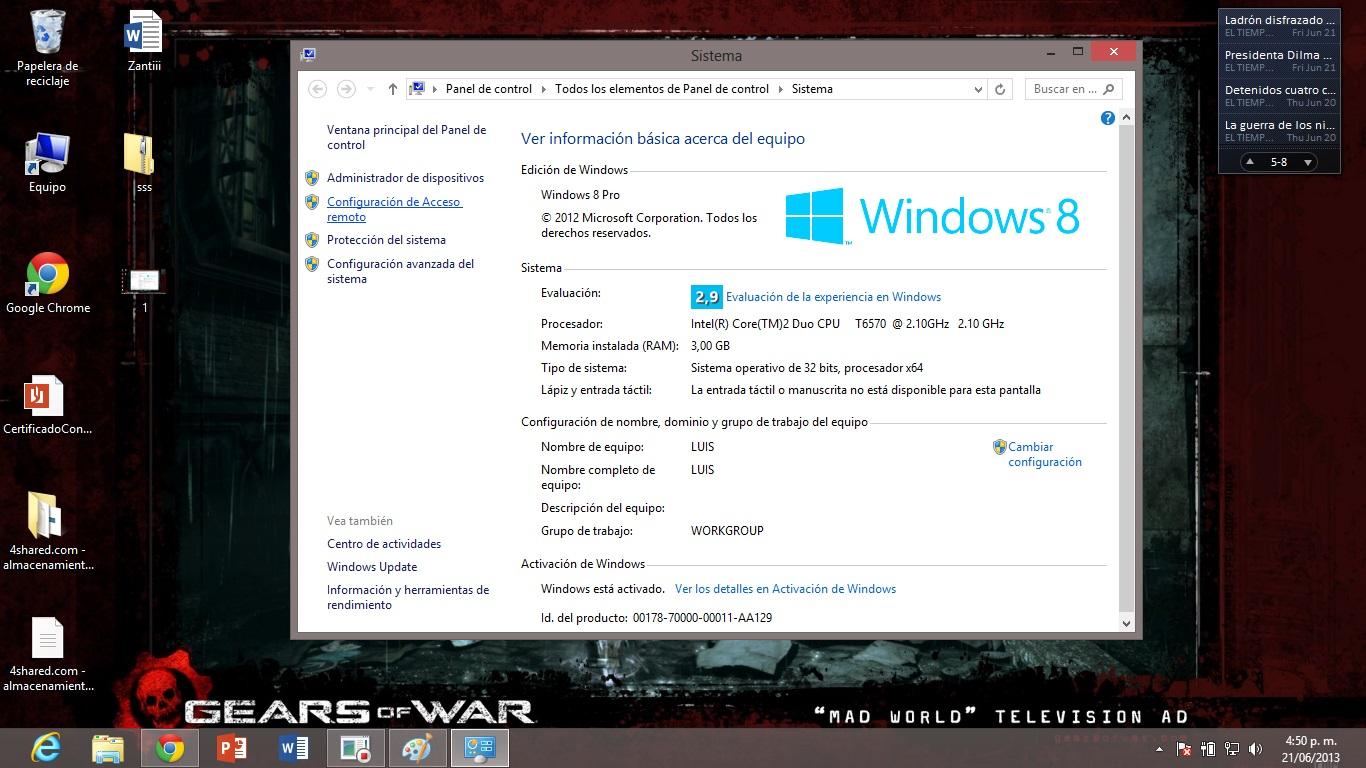 Escritorio remoto escritorio remoto con windows 8 for Conexion escritorio remoto windows 8
