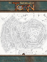 Torn World Presents: Hand-Drawn Cities: Volume I on DTRPG