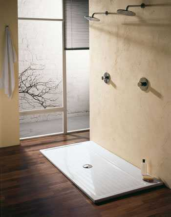 Some very useful ideas for modern and convenient open shower designs home design ideas - Open shower bathroom design ...