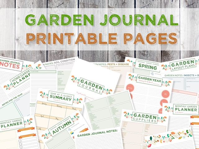 Green in Real Life Garden Journaling and Planning Free
