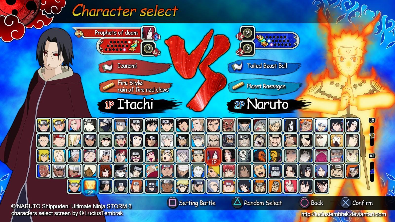 Naruto Shippuden Ultimate Ninja Storm 3YA ANUNCIADO