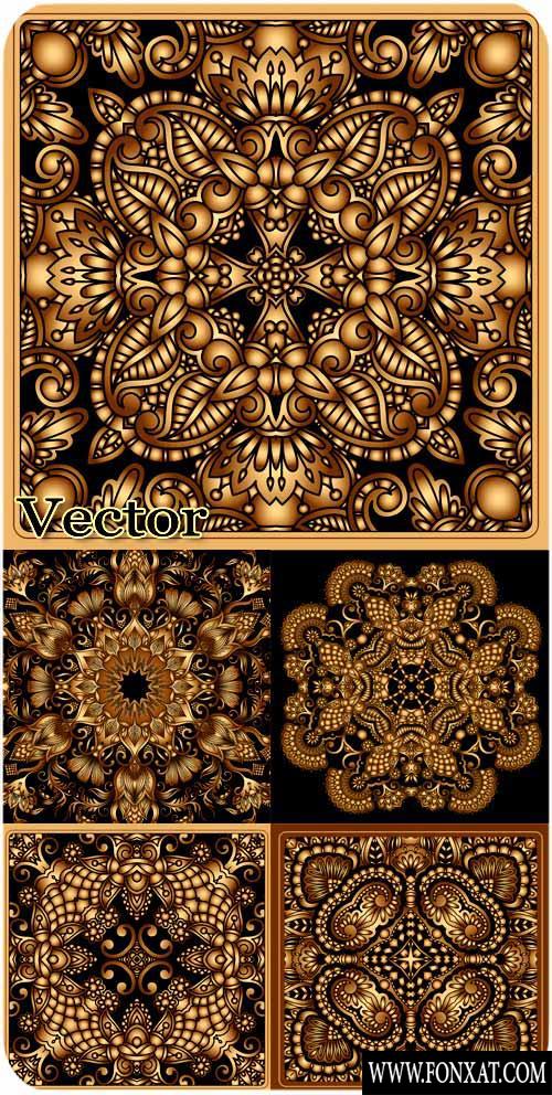 vector decoration مجموعة زخارف فيكتور رائعة مجموعة 16