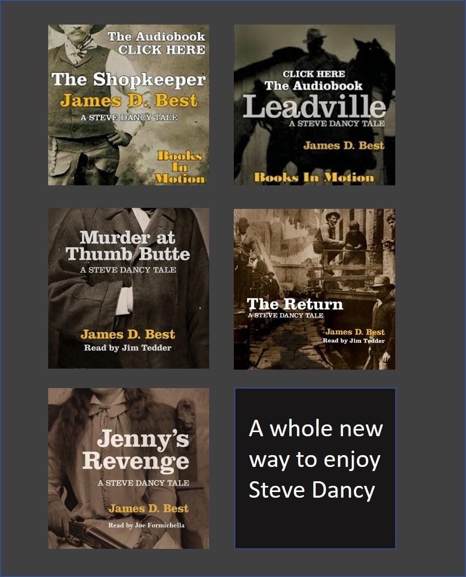 The Steve Dancy Tales in Audio