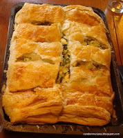 spanokopita - cheese and spinach pie