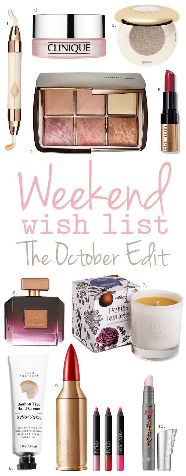 Weekend Wish List – The October Edit