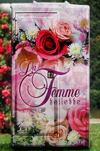 La Femme Portable Toilet by CALLAHEAD