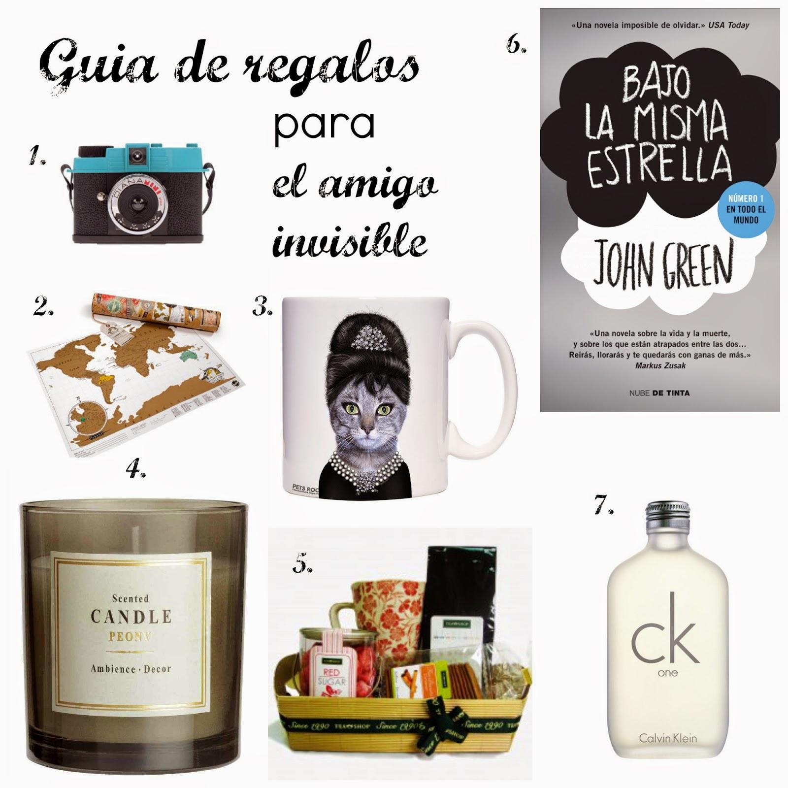 ideas amigo invisible Navidad detalles baratos el ella unisex regalos originales que regalar qué comprar