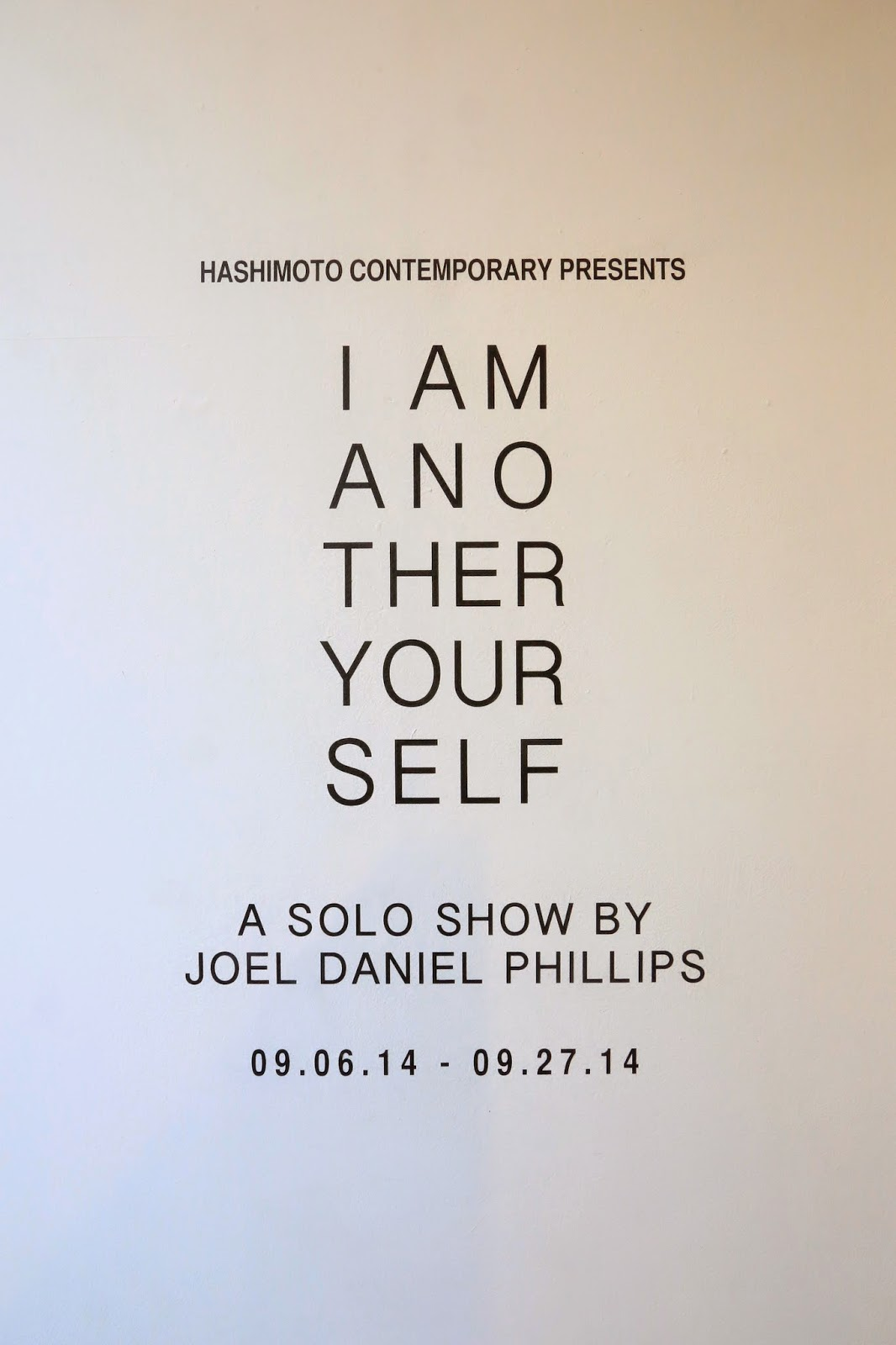 I Am Another Yourself, Joel Daniel Phillips