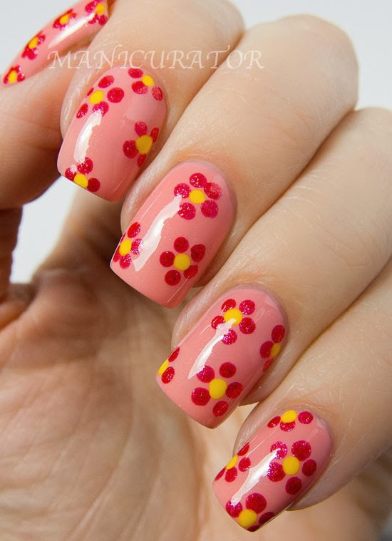 New Generations Clothing Line 15 Easy Simple Spring Flower Nail