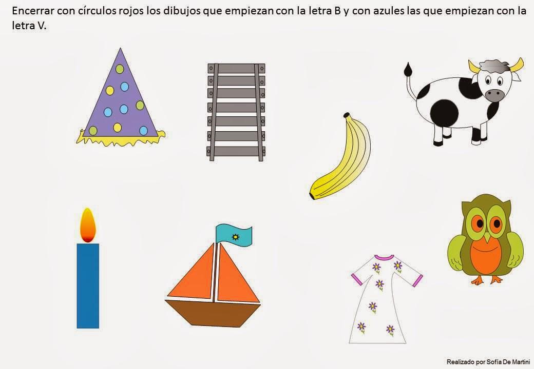 Planeta Juegos: Aprendemos las letras B y V