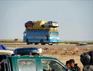 Cara Kereta Diangkut Di Afghanistan