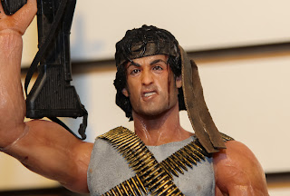 NECA 2013 Toy Fair Display Pictures - Rambo First Blood figures