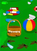 Уборка в саду - Онлайн игра для девочек