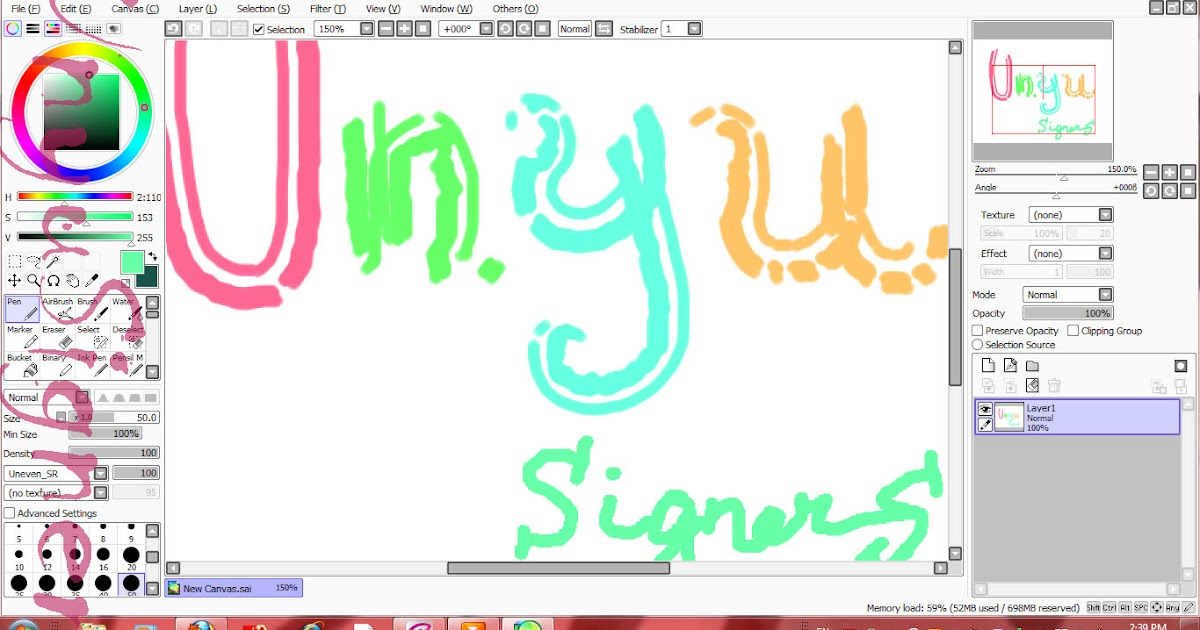 Unyusigners paint tool sai full version free download for Paint tool sai free full version