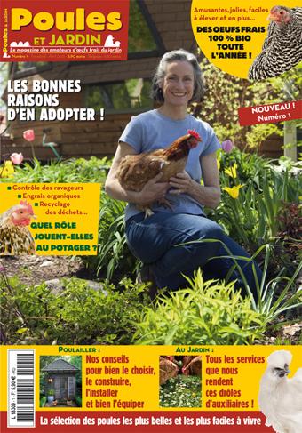 Poules et jardin poules et jardin num ro 1 en vente chez for Jardin et maison magazine