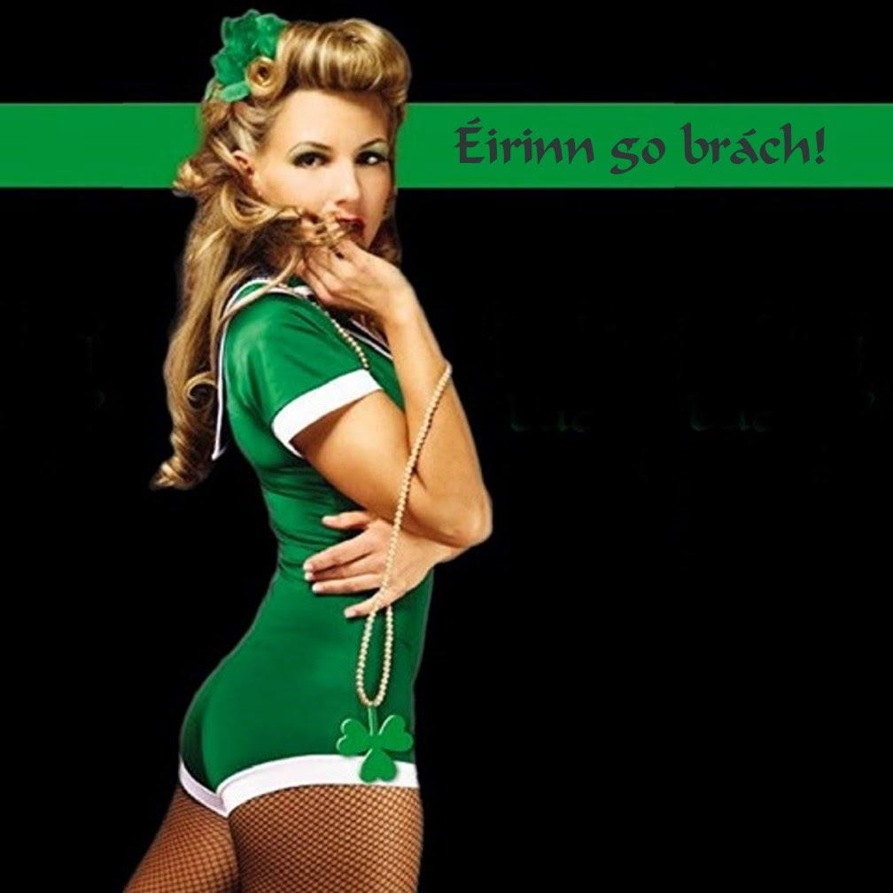 St Patrick Erin go bragh