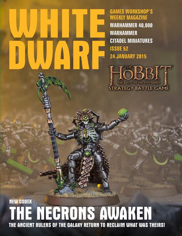 White Dwarf Weekly número 52 de enero