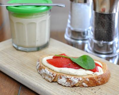 Roasted Eggplant Hummus ♥ (Eggplant & Chickpea Dip & Spread), Best Recipes for Everyday 2015 ♥ AVeggieVenture.com.