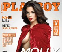 Molly Delgado Playboy Venezuela Junho 2016