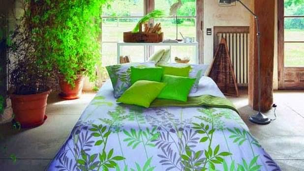 ديكور الصيفومفارش باردة للصيف تنسيق غرف نوم  غرف نوم العروسه الوان راقية لغرف