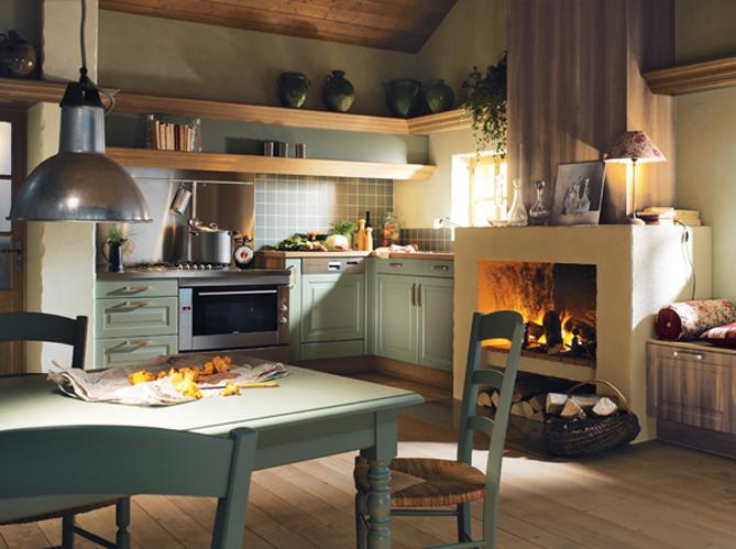 Rase una vez cocinas 39 antiguas 39 - Idee deco cuisine campagne ...
