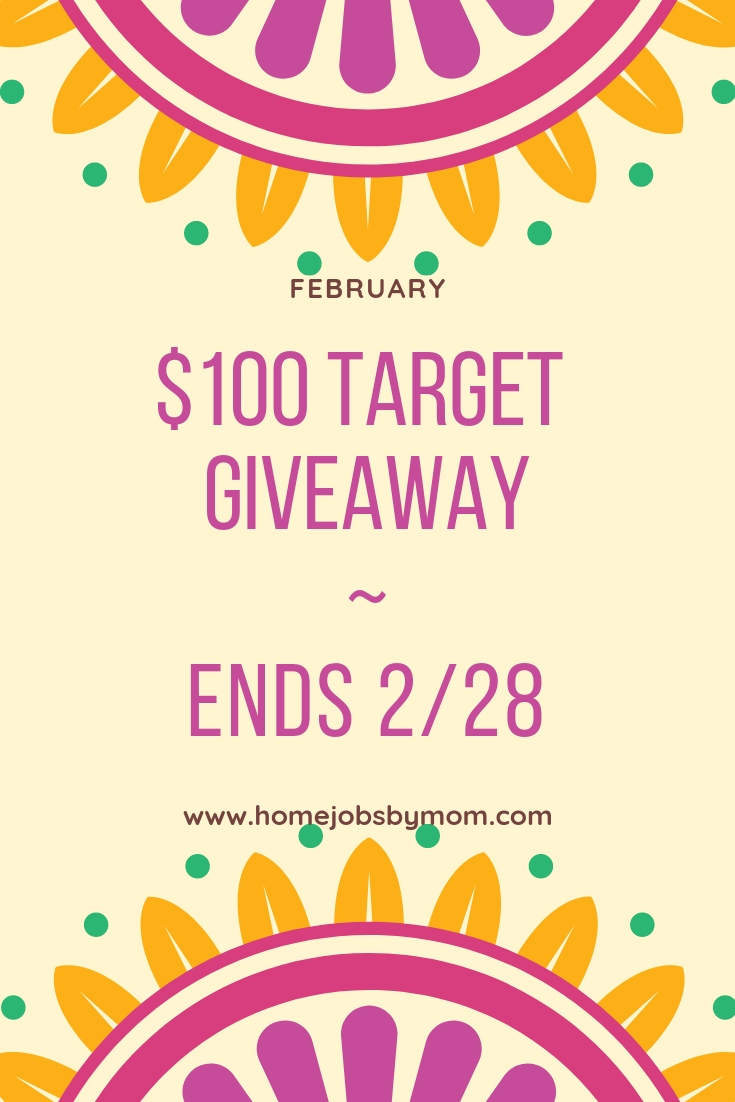 $100 Target Giftcard Giveaway