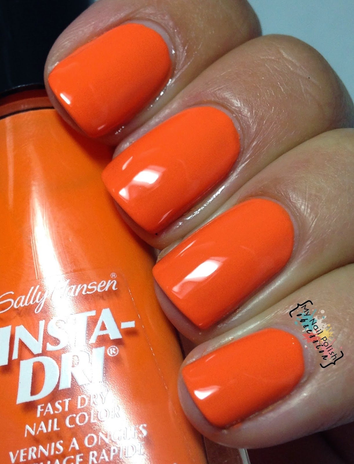 Sally Hansen Insta-Dri Pumpkin Queen