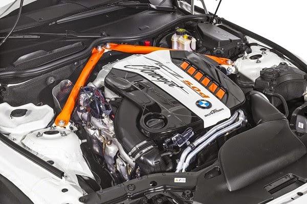 motor del AC Schnitzer ACZ4 5.0d