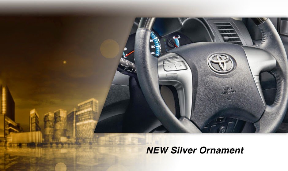 new-fortuner silver ornament