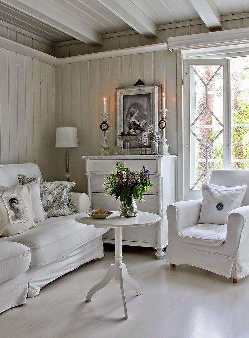 White Buffet Sideboard Decor