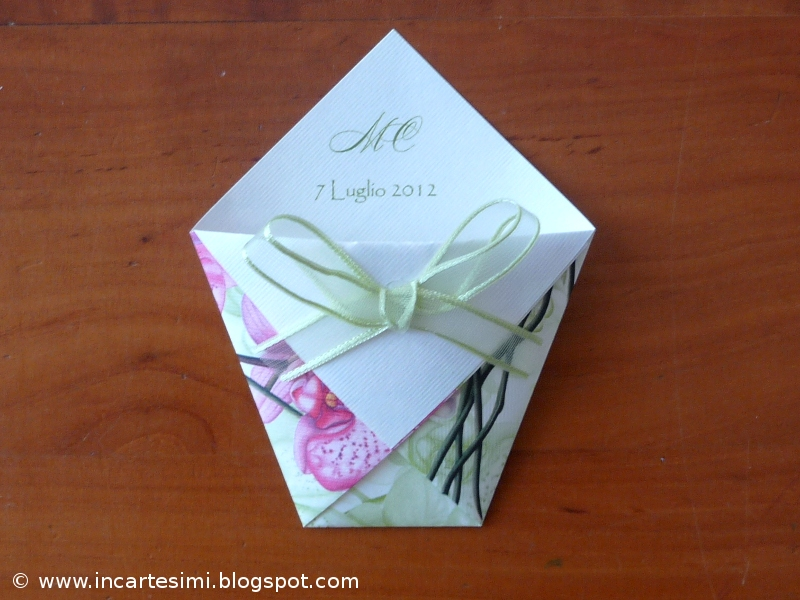 Preferenza Incartesimi: Bustine origami portaconfetti, portariso o  HK27