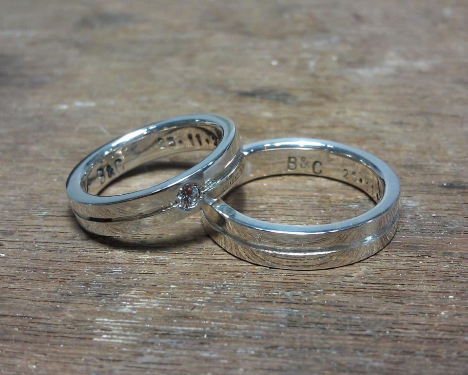 Diy Wedding Rings 16 Lovely Polished Finishing with a