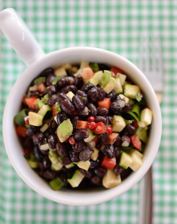 Scandi Home: Black bean salad
