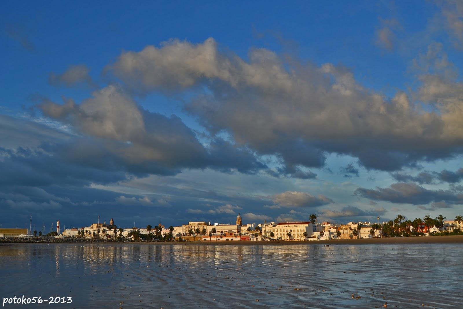 La playa del Chorrillo y Rota