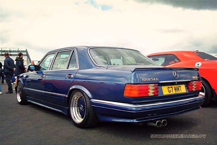 Mercedes Benz W126 1001sel Amg Benztuning