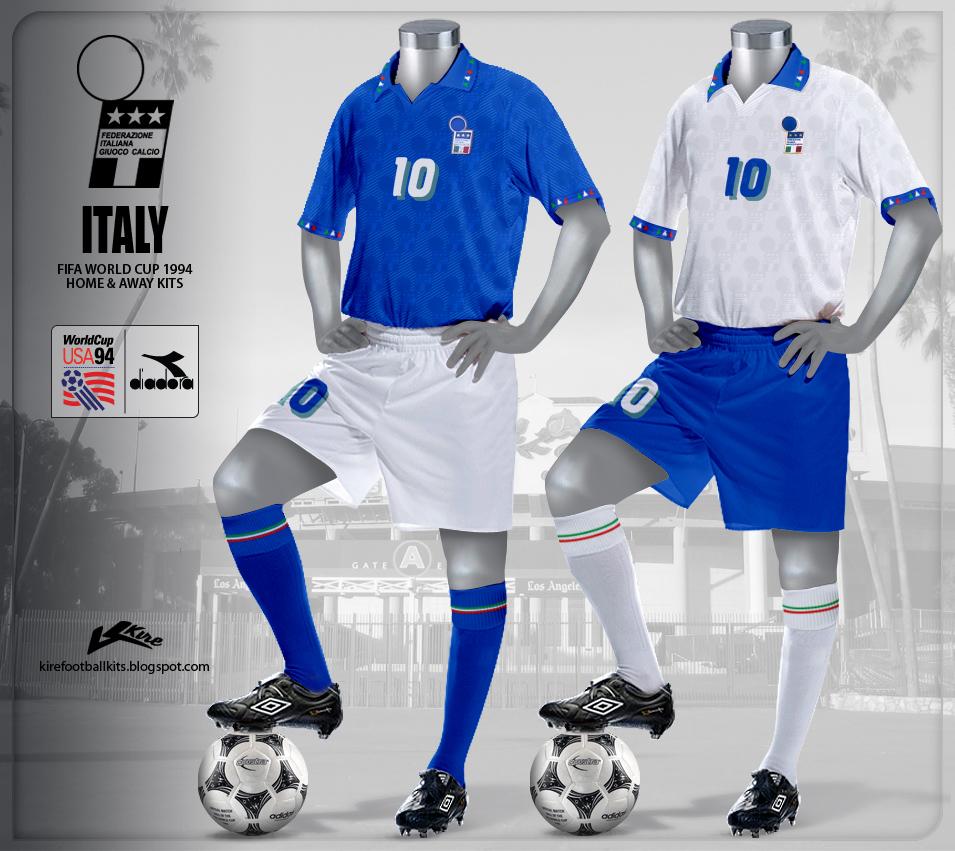 Kire football kits december 2011 for Italian kit