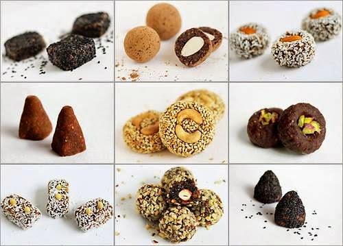 Как сделать полезные конфеты в домашних условиях
