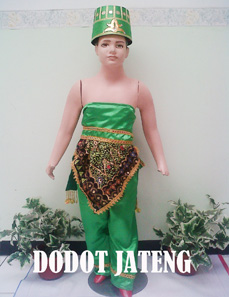 Baju Adat Anak Dodot Jawa Tengah