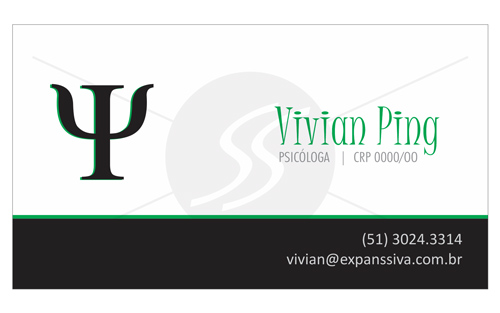 M226 cartoes de visita psicologos porto alegre - Cartões de Visita para Psicólogos