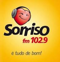 ouvir a Rádio Sorriso FM 102,9 ao vivo e online Estrela
