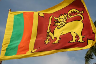 Animation Flag of Sri Lanka