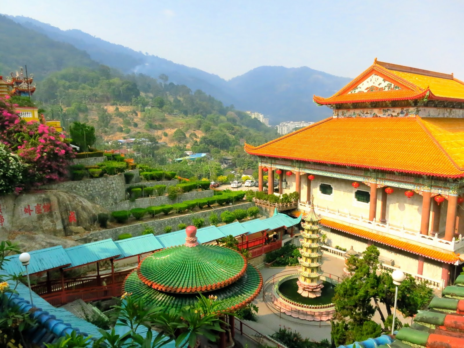 Kek Lok Si Temple in Penang Malaysia