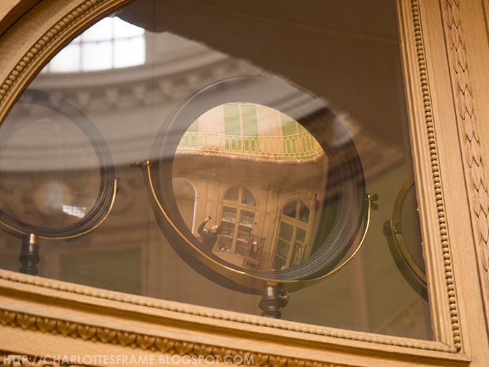 mirrors at the teylers museum