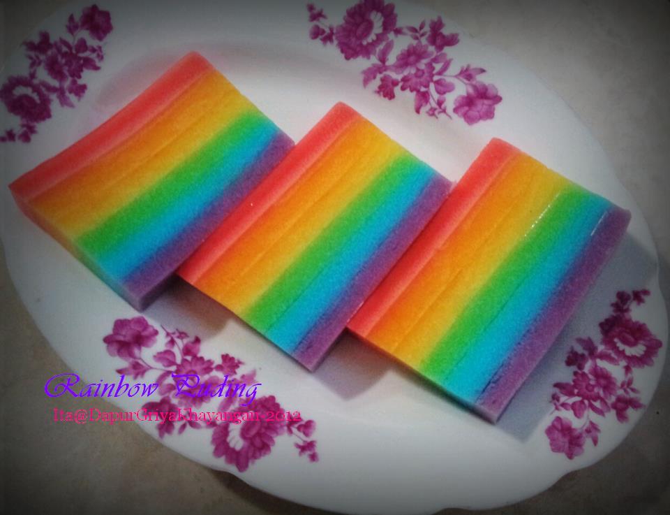... dan trend dengan yang rainbow rainbow yang paling heboh adalah rainbow