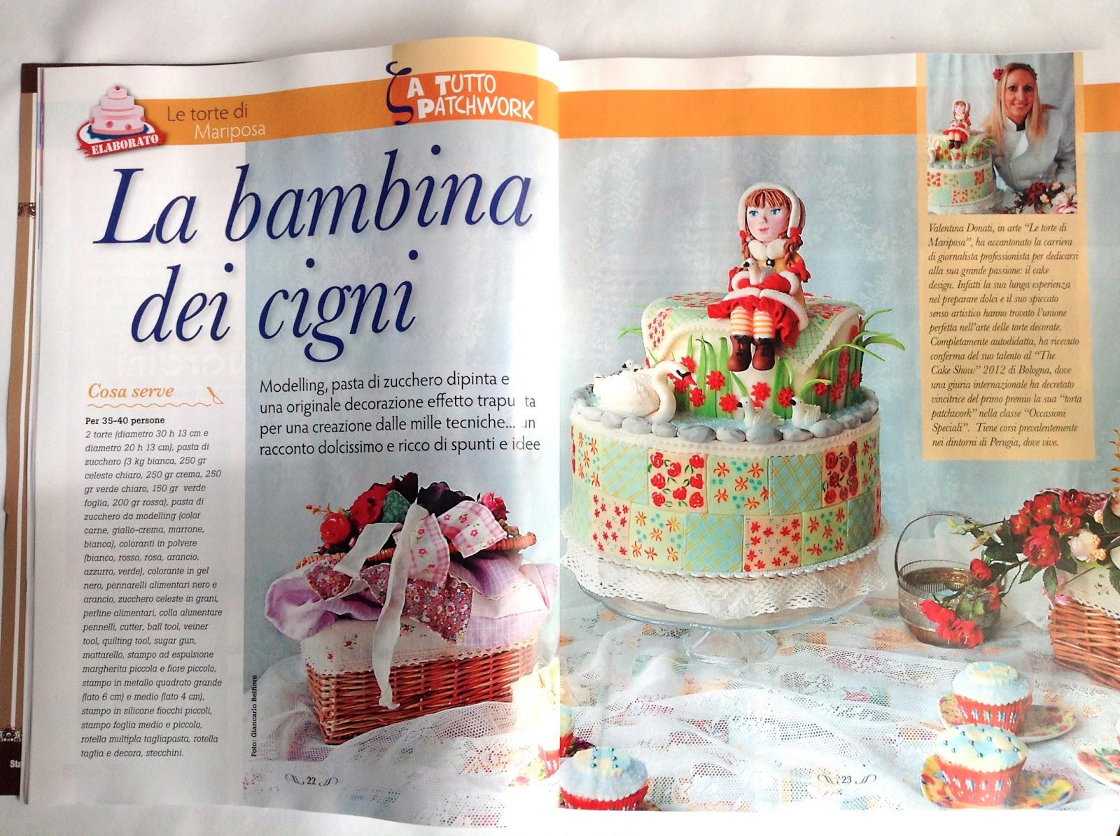 Le torte di Mariposa: Su CAKE DESIGN-CUCINA CHIC di Maggio.. sono ...