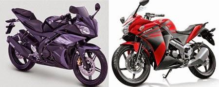 Yamaha R15  vs Honda CBR 150R
