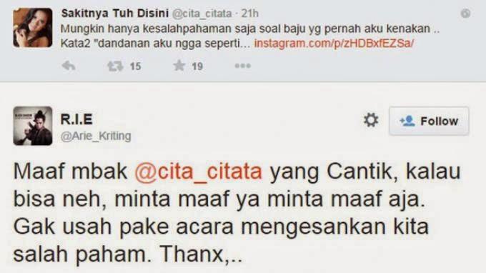 Cita Citata Dikecam Netizen