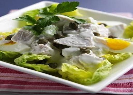 Ensalada de pollo con mayonesa