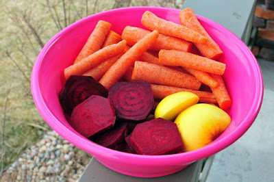 Healing juice beet, Apple and carrot