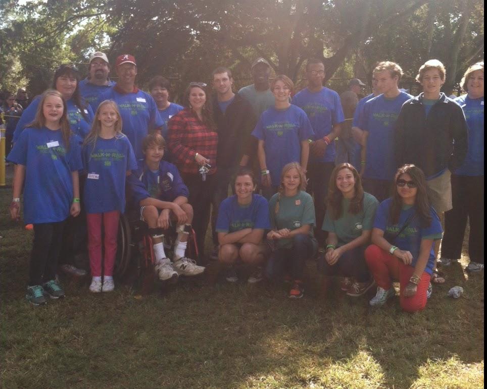 Catholic's Key Club Supports the Walk & Roll Fundraiser & a Classmate 1